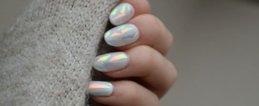 How to Do Shattered Glass Nails
