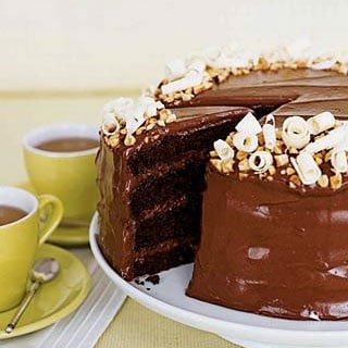 Chocolate Hazelnut Layer Cake Recipe