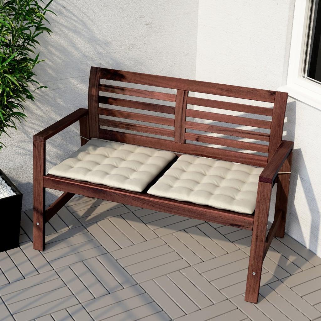Äpplarö Bench With Backrest