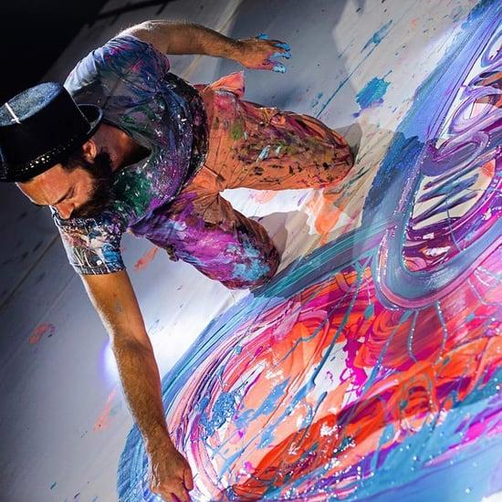 أكبر لوحة فنية قماشية في العالم تباع في مزاد علني بدبي قريبا