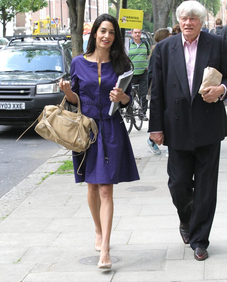 George Clooney's Fiancée Gets Back to Work