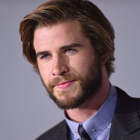 "Liam Hemsworth Poses With ""the Most Beautiful Girl in the World"" in His First Instagram"