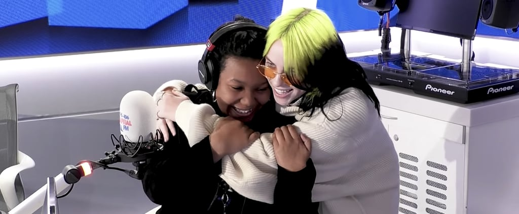 Billie Eilish Surprises a Fan on Capital FM | Video