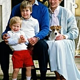 Prince Harry, 1986