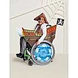 Boys' Adaptive Pirate Ship Halloween Costume Wheelchair Cover