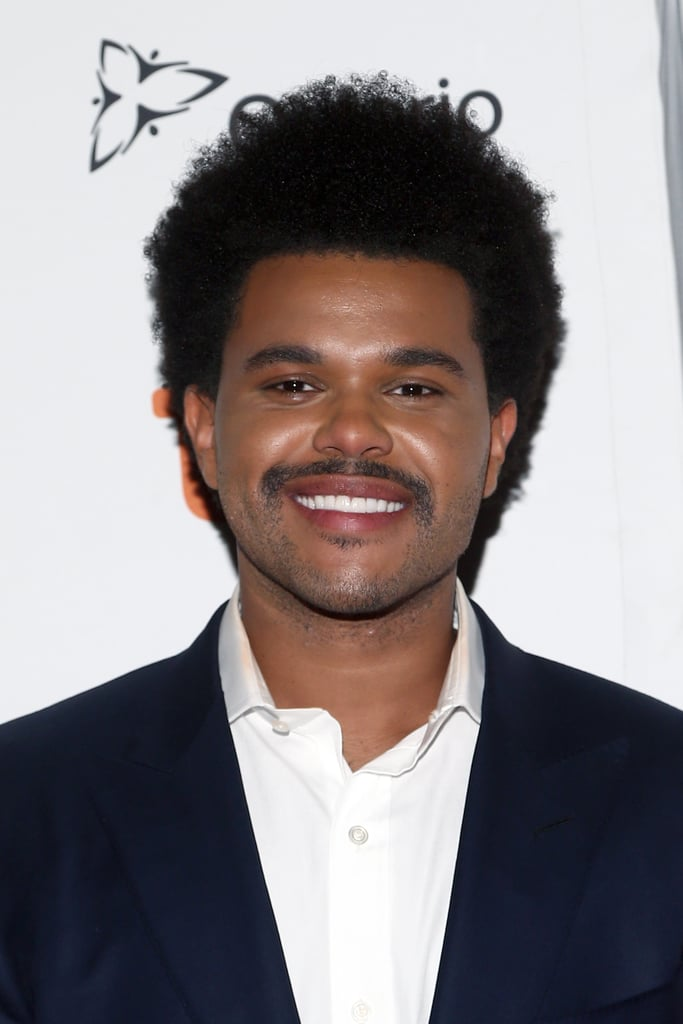 The Weeknd's Afro and Mustache In 2019