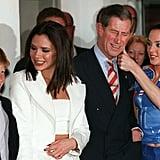 الأمير هاري، وفيكتوريا بيكهام، والأمير تشارلز، ومل سي