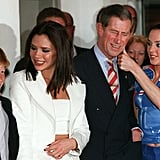 Prince Harry, Victoria Beckham, Prince Charles, and Mel C