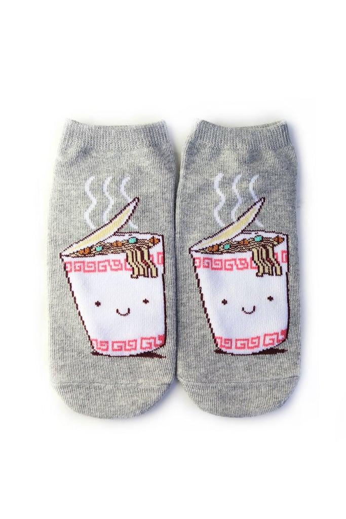 Instant Noodles Graphic Ankle Socks