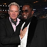 Pictured: Sting and Diddy
