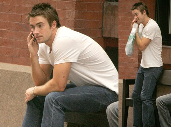 Photos of Robert Buckley in NYC
