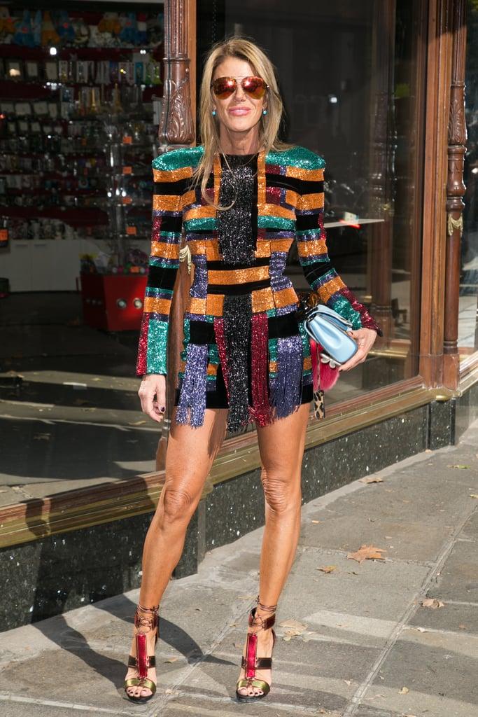 Anna Dello Russo 53 Celebrities Wearing Balmain