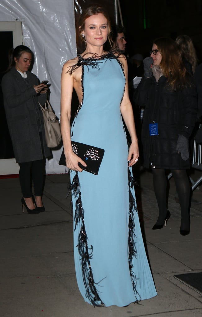 Diane Kruger in New York in February 2016