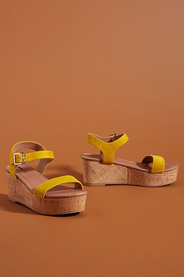 Matiko Cork Platform Wedges | Best Anthropologie Sandals
