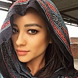 Looking gorg in a dupatta.