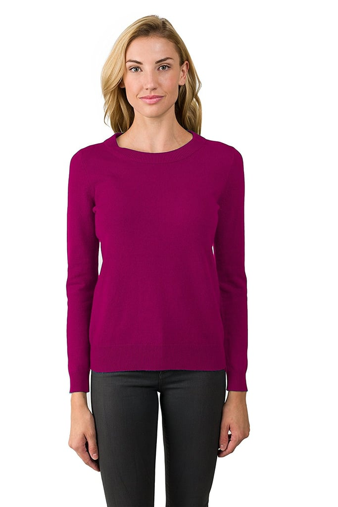 Jennie Liu 100% Pure Cashmere Sweater | Amazon Cashmere | POPSUGAR ...