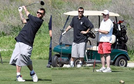 Kevin Federline and Jamie Spears: Golf Buddies?