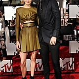 Adorable pair Shailene Woodley and Ansel Elgort are double costars, appearing in Divergent and the upcoming drama The Fault in Our Stars. A clip from the movie premiered during the show and set our hearts all aflutter.