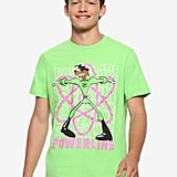 Disney A Goofy Movie Powerline Neon Atom T-Shirt