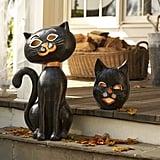 Pottery Barn Kids Halloween Cat Luminaries