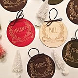 Custom Place Card Ornaments
