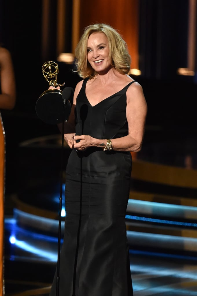 Jessica Lange got a lot of applause when she won her award.