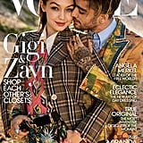 Gigi and Zayn Both Wearing Gucci Suits