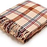 Arus Highlands Collection Tartan Plaid Design Throw Blanket