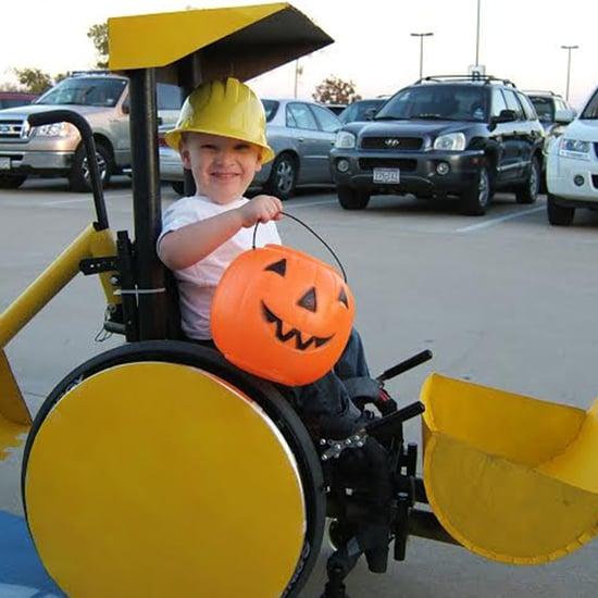 Parents Make Wheelchair Halloween Costumes