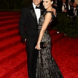Jessica Alba cosied up to her husband, Cash Warren.