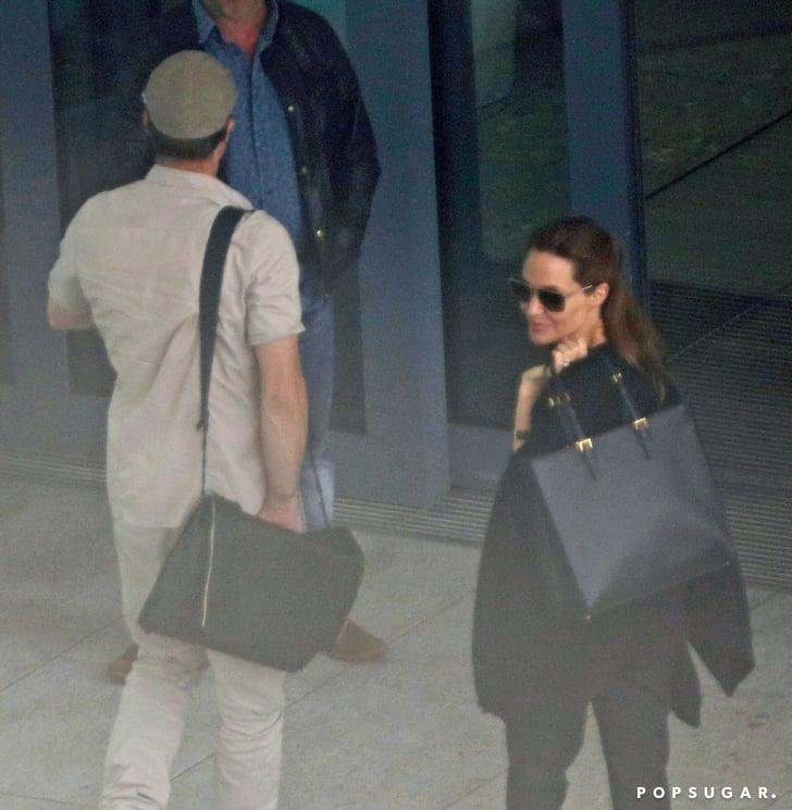 Cheerio! Angelina Jolie and Brad Pitt Bid Farewell to London