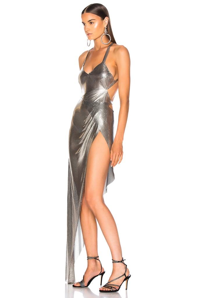 Fannie Schiavoni Izabel Dress in Silver
