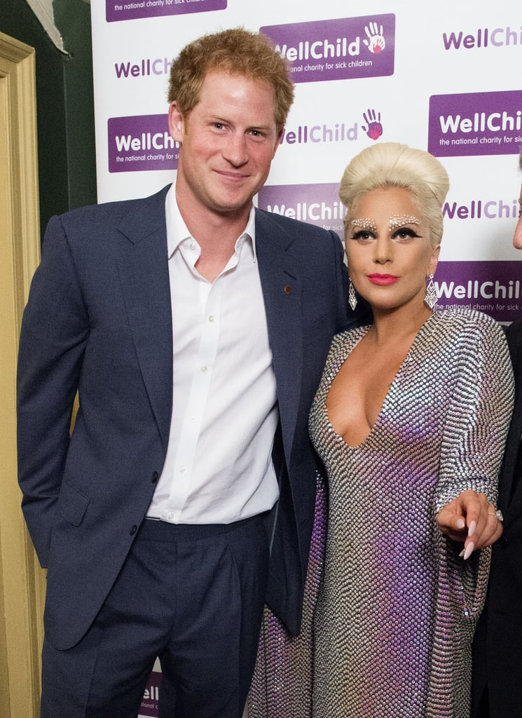 The royal mingled with Lady Gaga at a WellChild concert in England in June 2015.