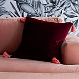 Velvet Decorative Throw Pillow