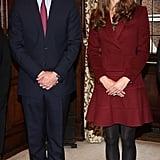 Kate wearing Paule Ka in OCtober 2012.
