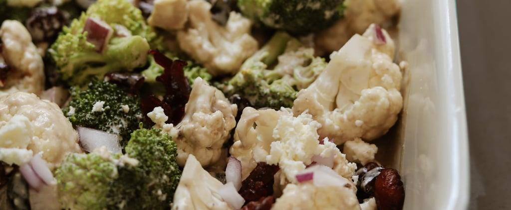 Easy Broccoli-and-Cauliflower Salad Recipe
