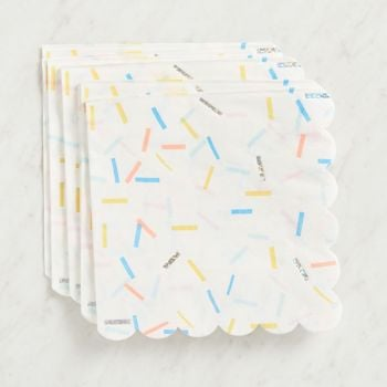 Paper Source Sprinkles Large Napkins