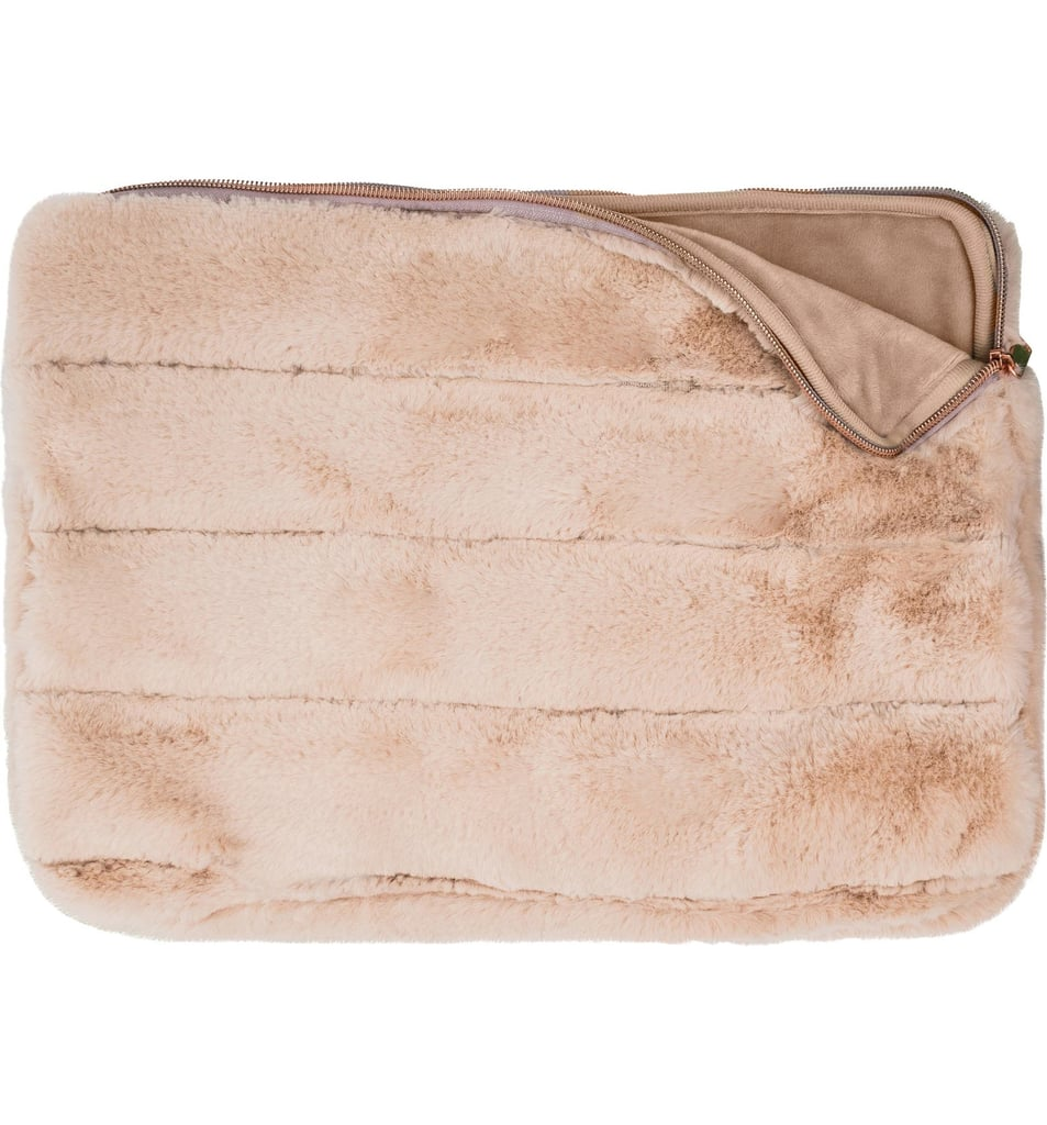 Mytagalongs Faux Fur 15-Inch Laptop Sleeve