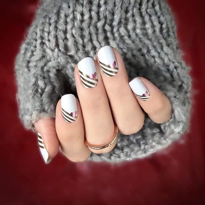 Best Valentine S Day Nail Art Of Instagram Popsugar Beauty