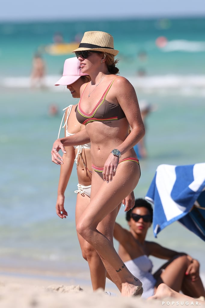 Katie Cassidy Bikini Pictures in Miami May 2016