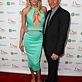 Brandi Glanville and Donald Friese