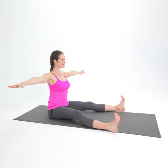 Pilates Saw Off Your Baby Toe Move