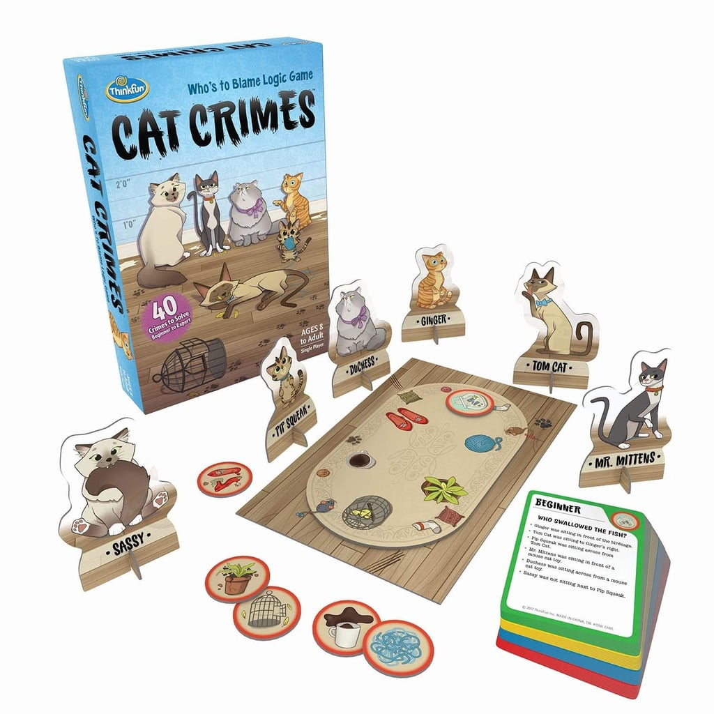 Think Fun Cat Crimes Logic Game | Good Christmas Gifts For 12-Year ...
