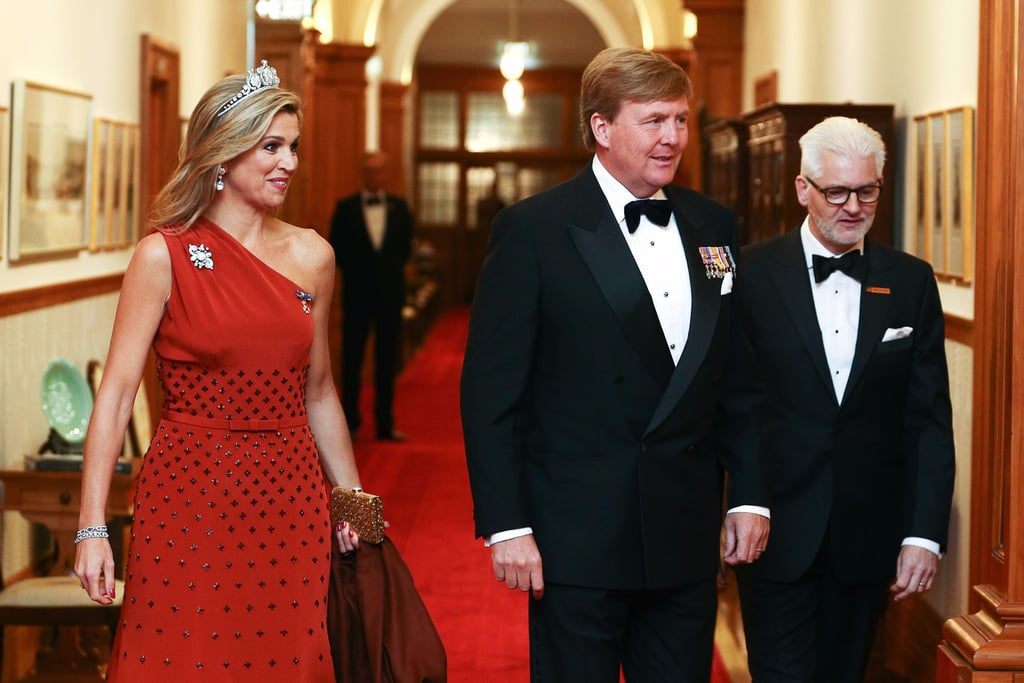 Queen Maxima's Claes Iversen Dress November 2016