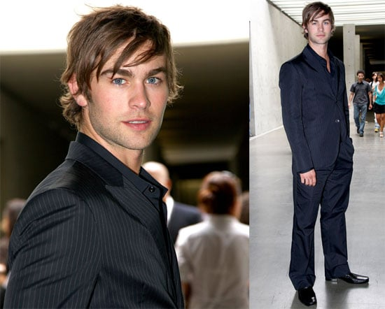 Photos of Chace Crawford in Milan