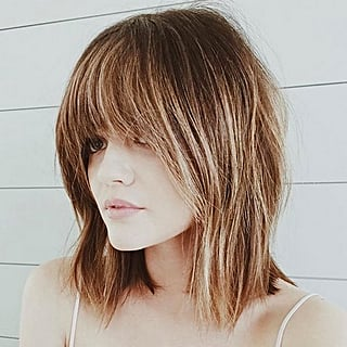 Lucy Hale Makes a Case For Bangs in the Summer