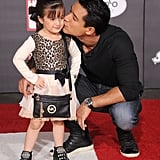 Mario Lopez got adorable with his daughter Gia at the premiere of Disney's Big Hero 6 in LA on Tuesday.