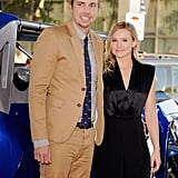 Kristen Bell and Dax Shepard looked cute together at the premiere.