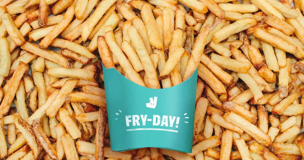 Free Fries From Deliveroo Popsugar Food Uk