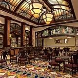 Shanghai Disneyland Hotel Bacchus Lounge Rendering